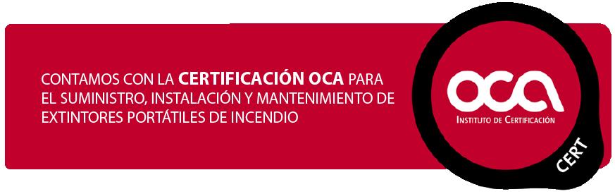 CERTIFICADO OCA-01
